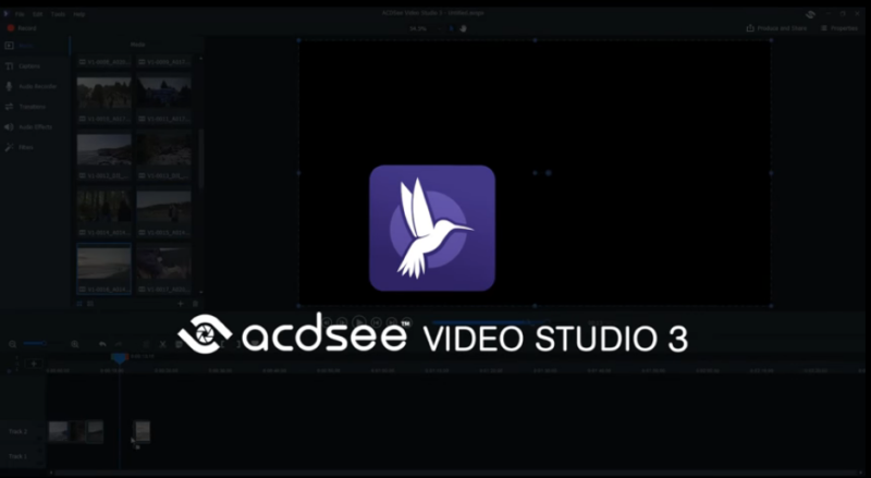 ACDSee Video Studio screenshoot 1