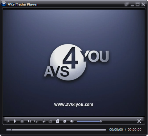 AVS Media Player screenshoot 1