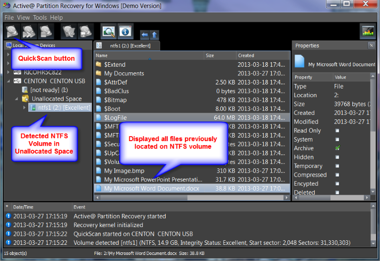 [emailprotected] Partition Recovery screenshoot 1