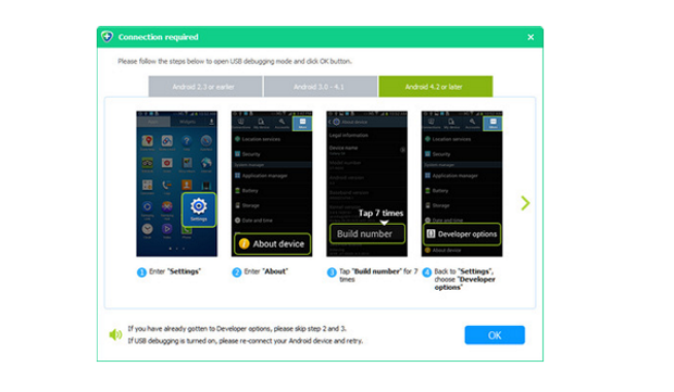 Aiseesoft Free Android Data Recovery screenshoot 1