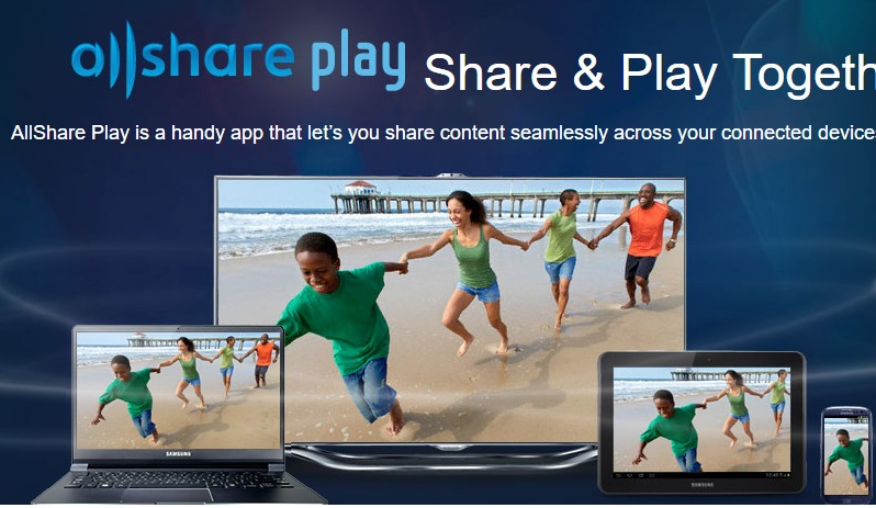 AllShare Play screenshoot 1