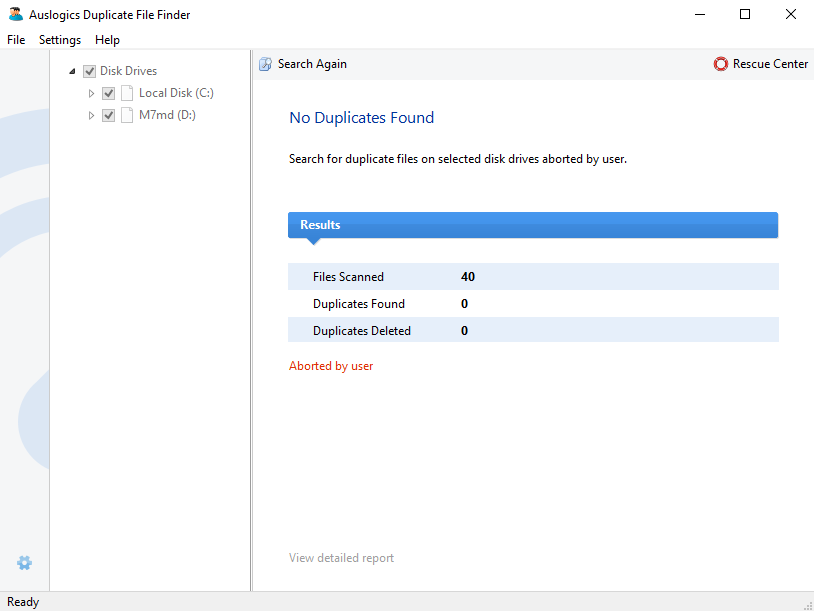 Auslogics Duplicate File Finder screenshoot 1