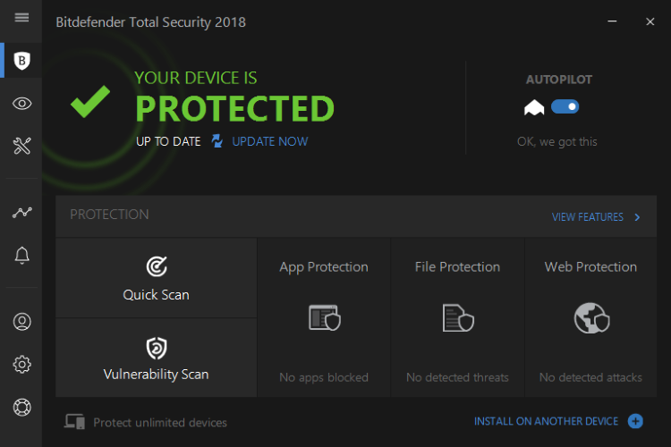 Bitdefender Family Pack screenshoot 1