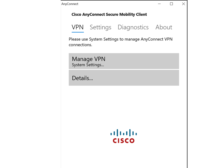 Cisco AnyConnect for PC Windows 10 (2019) – Latest Version