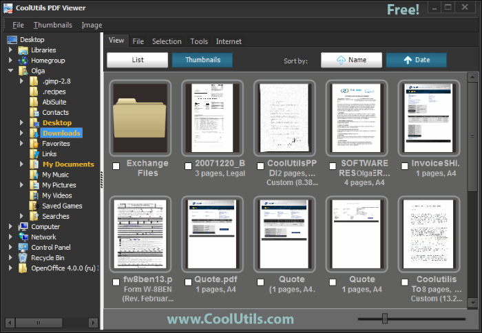 CoolUtils PDF Viewer screenshoot 1