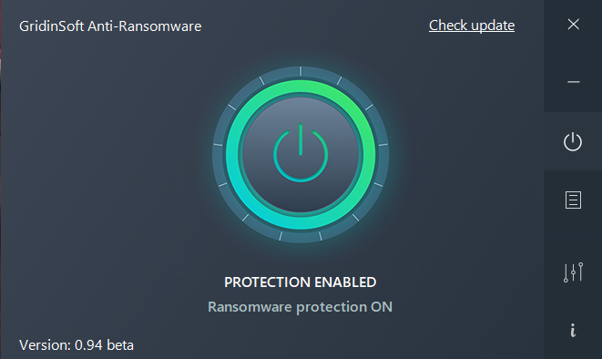 GridinSoft Anti-Ransomware screenshoot 1