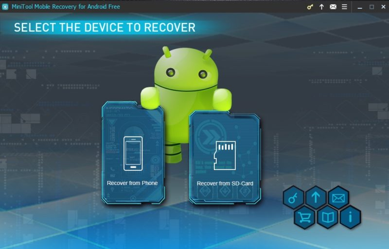 MiniTool Mobile Recovery for Android screenshoot 1