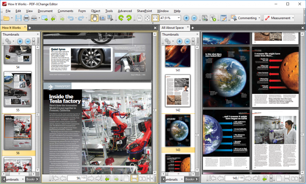 PDF-XChange Editor screenshoot 1