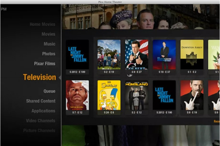 Plex Home Theater screenshoot 1