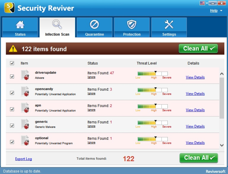Security Reviver screenshoot 1