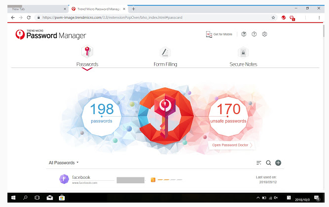 Trend Micro Password Manager screenshoot 1