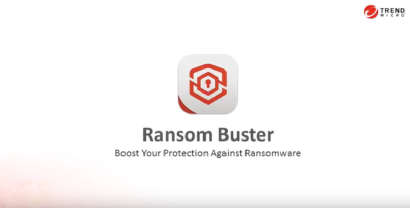 Trend Micro Ransom Buster screenshoot 1
