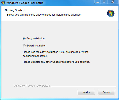 Install And Configure Windows 7 Codec Pack | 424x507