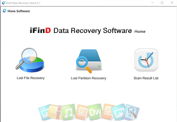 iFind Data Recovery screenshoot 1